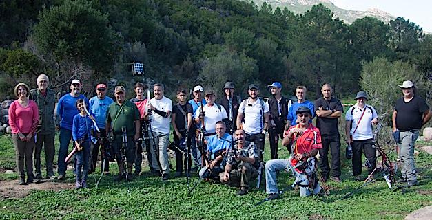 Forêt de Bonifato : Une vingtaine d'archers au souvenir Ernest-Ludwig