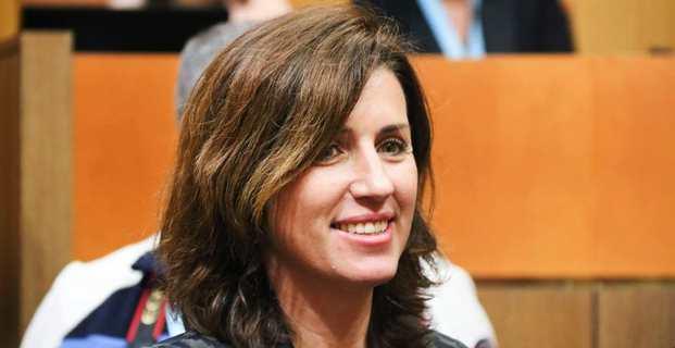 Marie-Antoinette Santoni-Brunelli, conseillère territoriale du groupe libéral « Le Rassemblement », et conseillère municipale d'Ajaccio.