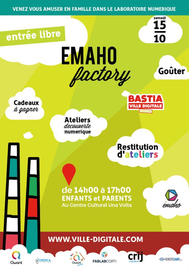Emaho factory: Des ateliers numériques gratuits pour toute la famille!