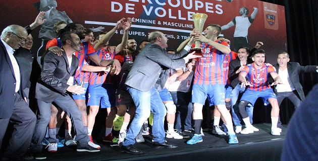 Les ajacciens remportent la Super Coupe de volley : Magic GFCA !