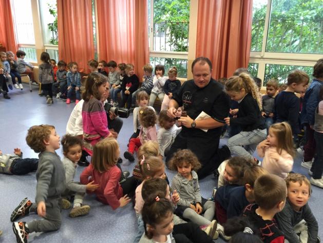 Bastia : Le chocolat, c'est bon pour les enfants !