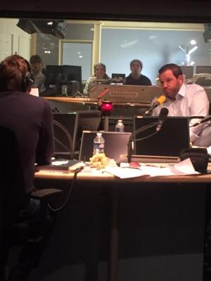 Nicolas Stromboni interviewé sur France Inter