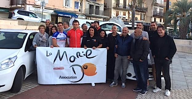 Le tour de Corse à vélo en 24 heures au profit de la Marie Do pour Patrick Sandroni