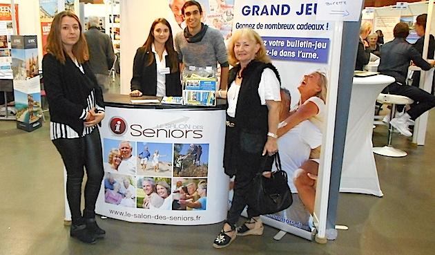 Premier salon des Seniors à Ajaccio
