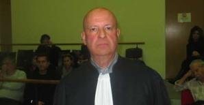 Le bâtonnier Gérard Tiberi.