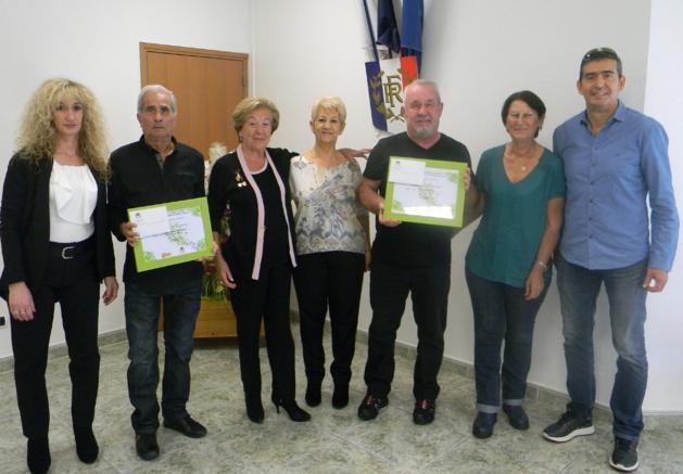Borgo : Les lauréats du concours municipal des maisons et balcons Fleuries