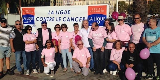 Octobre rose La marche des femmes corses contre le cancer du sein