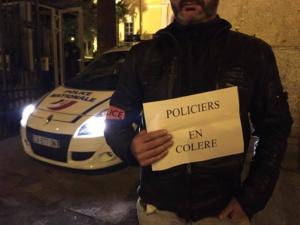 Les policiers ajacciens soutiennent le mouvement national