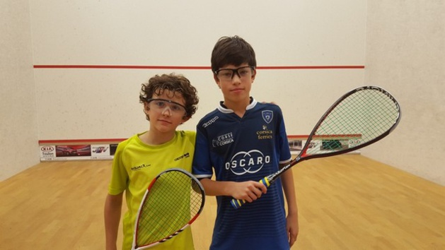 Le Squash Loisirs Ile-Rousse frappe un grand coup à l'Open jeunes de Cuers