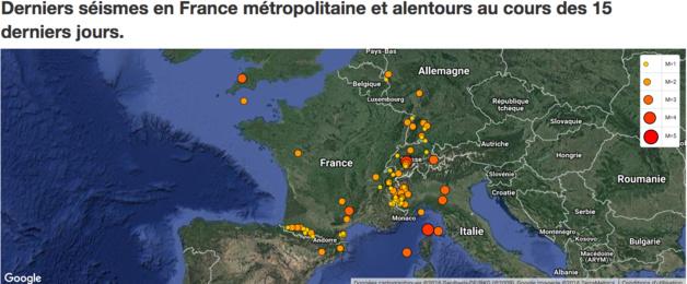 Corse : Tremblements de terre et avions supersoniques
