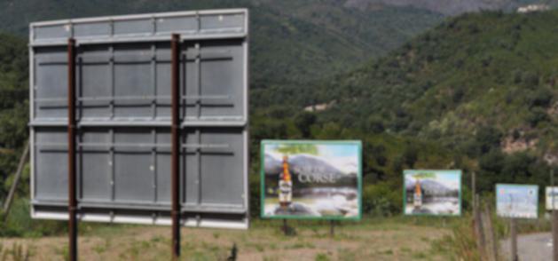 """Paysages de France accuse le """"lobbying des afficheurs de Corse"""