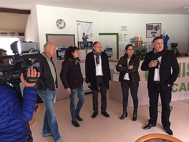 Mission de l'ANDES en Corse : Le complexe sportif de Calvi-Balagne cité en exemple