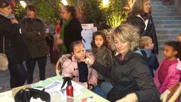 Un beau succès à Calvi  pour la brocante de l'école Loviconi
