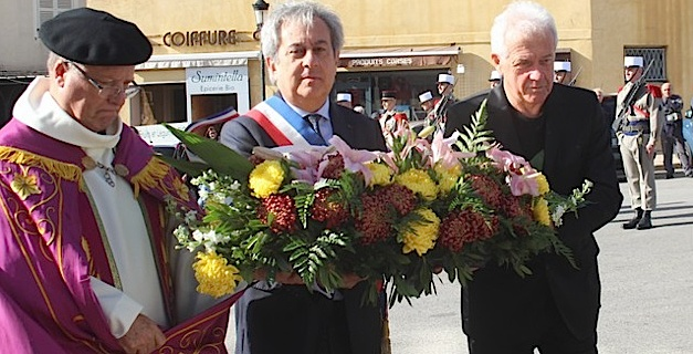 Cérémonie à Calvi pour le 98e anniversaire de la signature de l'Armistice