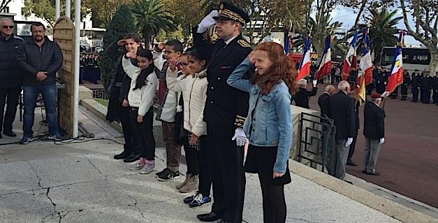 11-Novembre : Bastia commémore l'armistice et rend hommage aux morts pour la liberté
