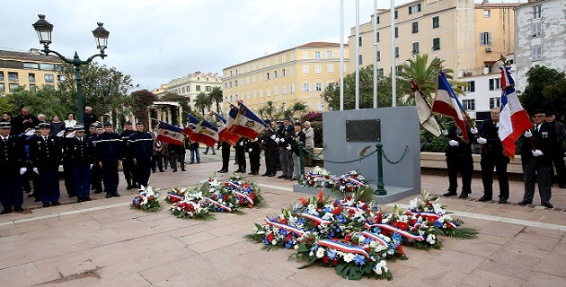 Armistice du 11 novembre 1918 : Ajaccio et Sarrola-Carcopino se sont souvenus