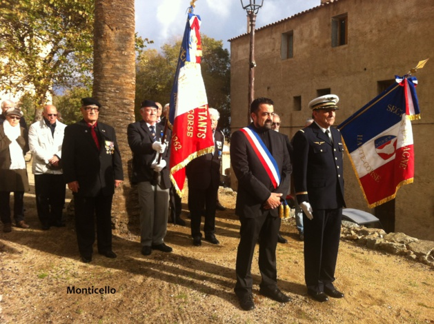 Les anciens combattants de la FNACA ont célébré le 11 novembre dans les villages balanins