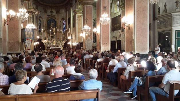 L'église Sainte-Marie était comble pour le Concert lors des Journées du Patrimoine.
