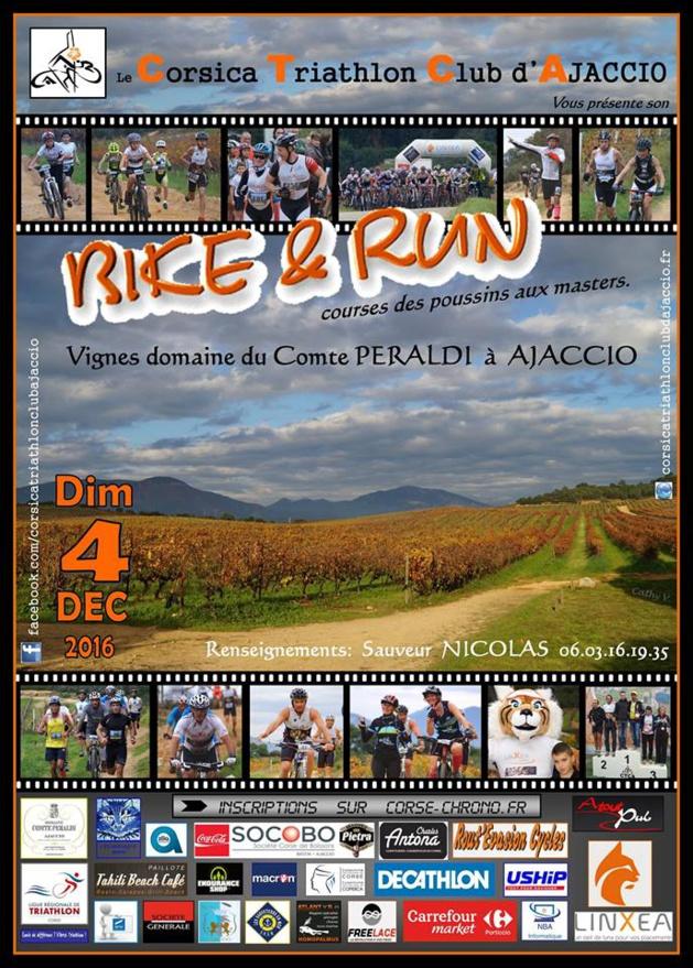 6è édition du Bike and Run dans les vignes du domaine Peraldi à Ajaccio: On attend vos inscriptions