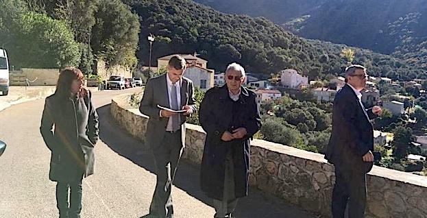 Le sous-préfet de Calvi à la rencontre des élus de Zilia