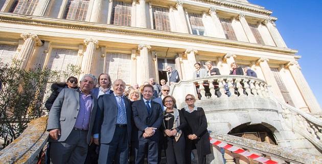Ajaccio : Installation du conseil technique et scientifique du château de la Punta