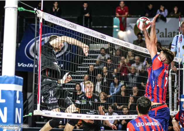Volley-ball : Le diaporama de GFC Ajaccio-Narbonne