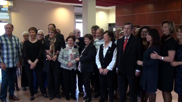Une fête en l'honneur des personnes de Calvi qui ont fêté leurs 80 ans dans l'année