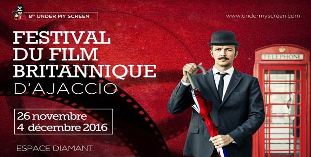 La 8ème édition du Festival du Film Britannique d'Ajaccio dans les starting-blocks