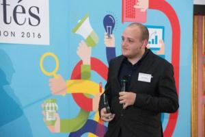 La Corse a des talents : Cédric Murati a reçu son prix au Sénat