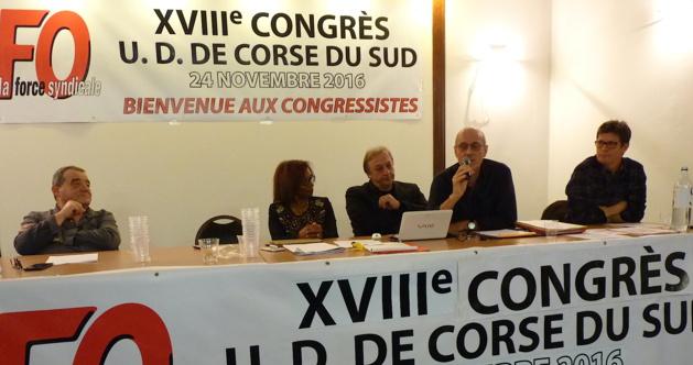 FO de Corse-du-Sud : Paul Giacomoni tire sa révérence. Marcel Santini lui succède