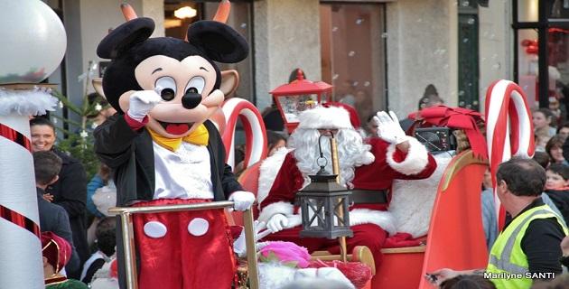 Les associations des commerçants du centre-ville d'Ajaccio fêtent Noël avec les Ajacciens