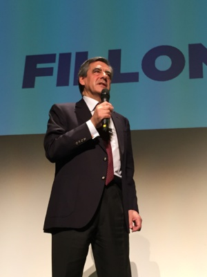 François Fillon à Porto-Vecchio.