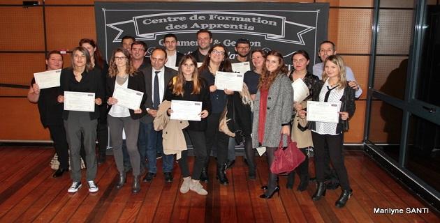 CFA Commerce et Gestion d'Ajaccio : L'heure de la remise des diplômes