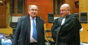 Le député Paul Giacobbi et le procureur Nicolas Bessone.
