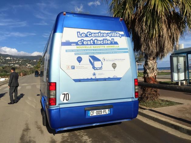 Bastia : Un parking-relais à l'Arinella et une navette jusqu'à la place Saint-Nicolas