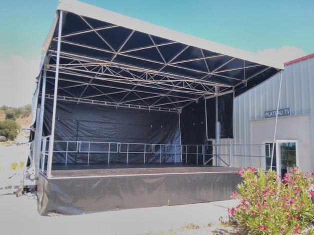 Ajaccio : Atacc ajoute une scène mobile à son parc
