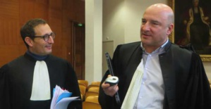 Me Jean Sebastien De Casalta et le procureur Nicolas Bessone.