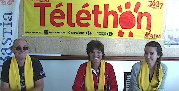 Bastia : C'est parti pour le Téléthon