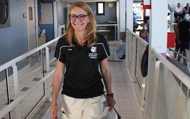 Michèle Melgrani-Poli, présidente de la ligue de Corse