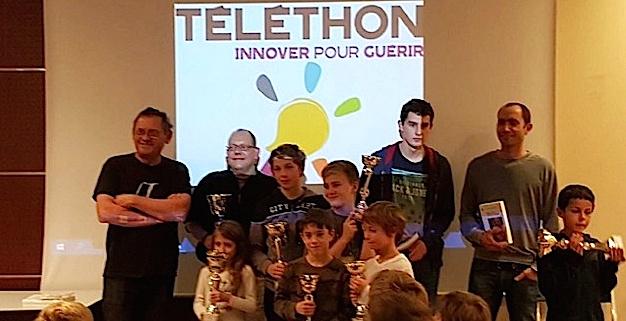 La Balagna Chess Club s'est mobilisé pour le Téléthon