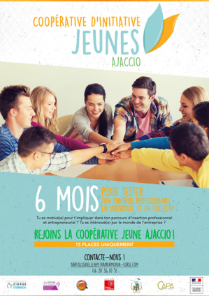 Appel à recrutement pour une Coopérative d'Initiative Jeunes de 18 à 26 ans-Pays Ajaccien