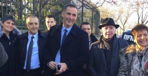 dans les rues de Paris, Jean-Guy Talamoni, Gilles Simeoni, Jean-Jacques Panunzi, Hyacinthe Vanni...