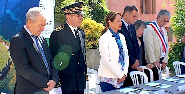 Le voyage de Ségolène Royal s'était achevé à Erbalunga après l'attentat de Nice