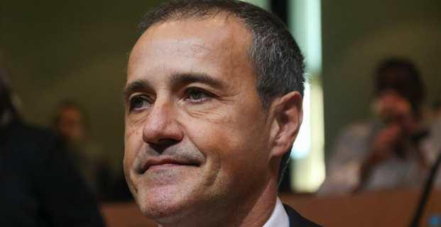 Jean-Guy Talamoni, président de de l'Assemblée de Corse.