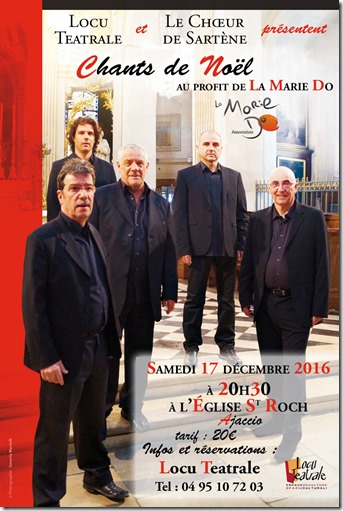 "Concert ""Chants de Noël"" au profit de ""La Marie-Do"""