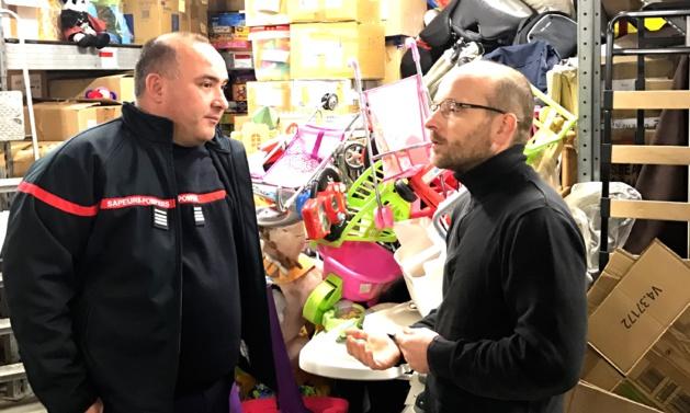 """Jeunes-sapeurs pompiers de la Plaine : Succès de l'opération """"Un jouet pour tous"""" avec 18 m3 collectés !"""