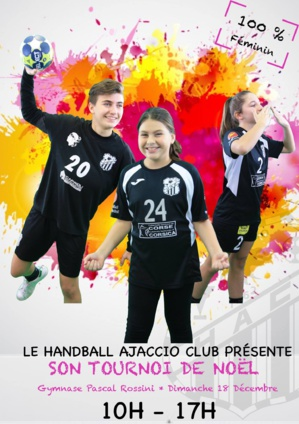Ajaccio : Le tournoi de Noël 100% féminin du HAC