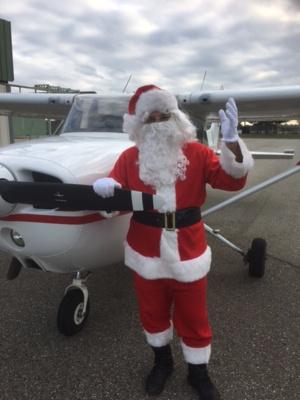 Il est déjà temps de repartir pour le Père Noël !!!