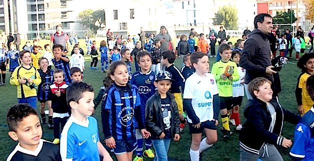 La grande kermesse du football à Calvi