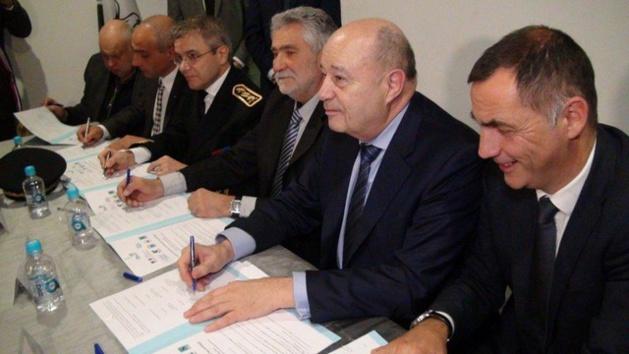 La signature du contrat